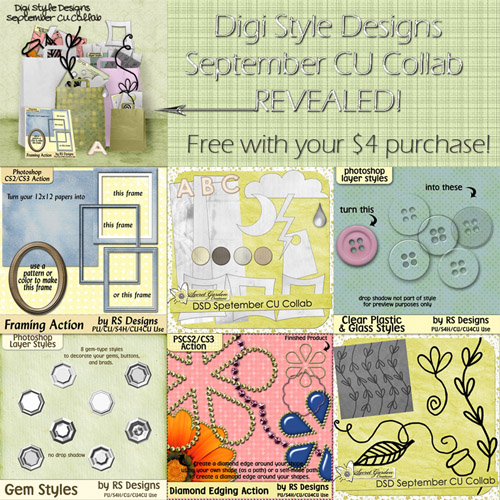 **DSD September CU Collab - Free w/ Purchase